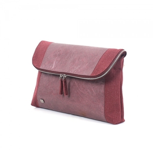 A :bag the basic_clutch_f(wine)